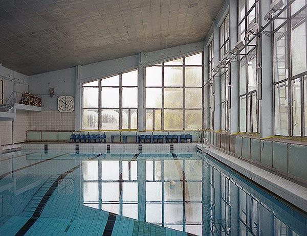 Svømmehallen i Pripyat - før katastrofen. Foto: Pripyat.com