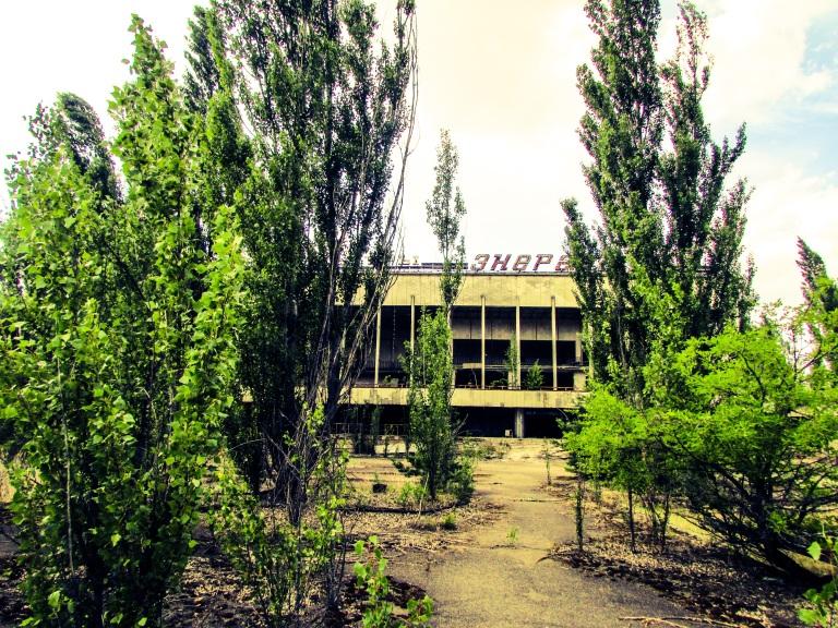 Kulturpalasset, sett fra samme sted i dag.