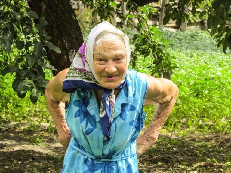 Rosalie har bodd inne i den forbudte sonen rundt Tsjernobyl i 27 år.