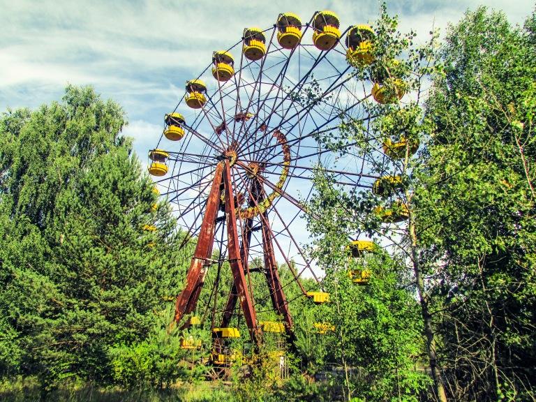 Pariserhjulet - som om tiden har stått stille siden april 1986.