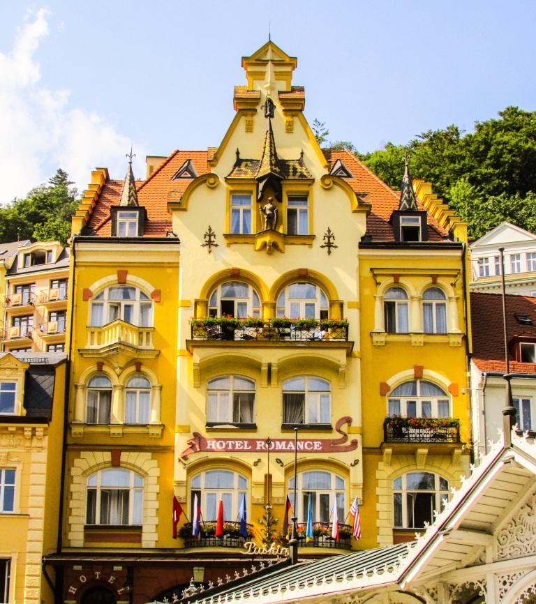 Hotel Romance, med et utseende som passer til navnet.