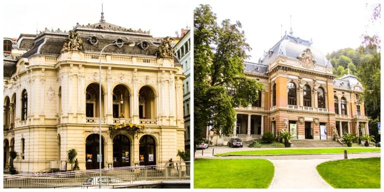 Med både teater og opera var det ikke mange byer med noen tusen innbyggere som overgikk Carlsbad i byens storhetstid.
