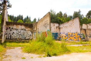 Frysenanlegget til bobbanen i Sarajevo